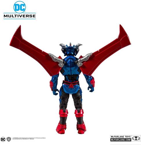 boneco superman unchained armor mcfarlane toys dc multiverse