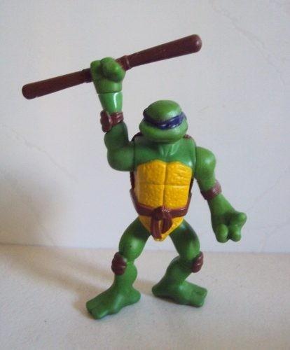 boneco tartaruga ninja 11 cm  coleção mcd's