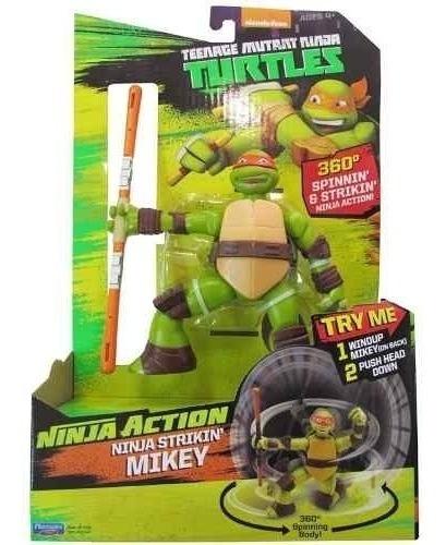 boneco tartaruga ninja michelangelo ação articulado