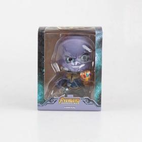 Boneco Thanos - Vingadores Guerra Infinita - Marvel 10cm