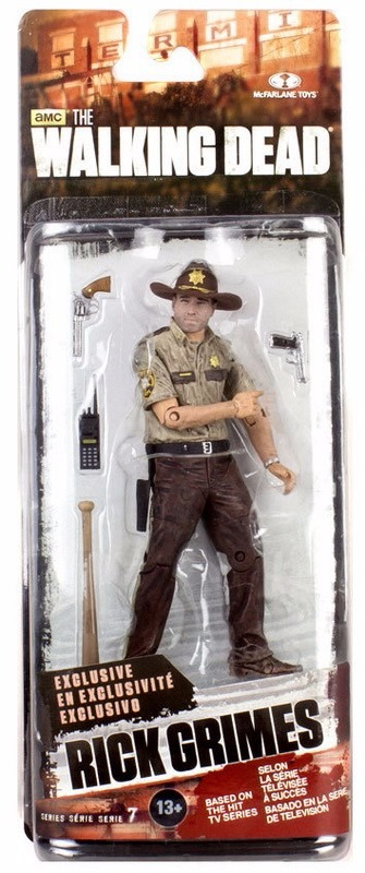 Action Figure Rick Grimes exclusive The Walking Dead Serie 7 13 cm by McFarlane