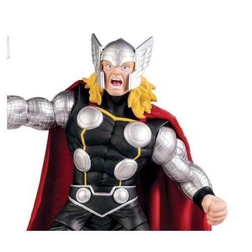 boneco thor avengers premium gigante 51 cm - mimo