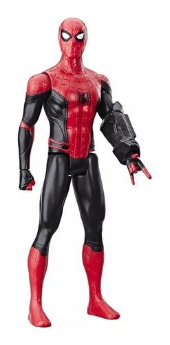 boneco titan hero homem aranha de volta ao lar 30cm - hasbro