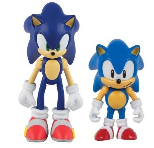 Boneco Tomy Sonic Classic Sonic T22056 Original + Livro