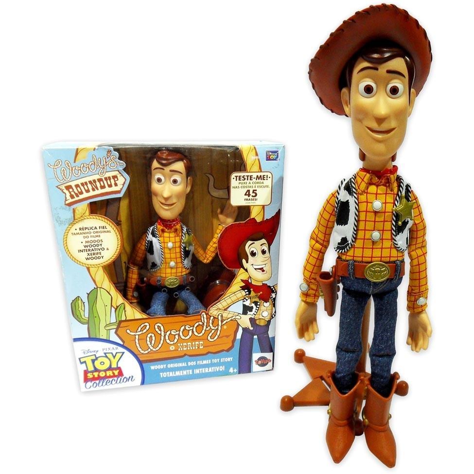 boneco toy story woody com som original - toyng. Carregando zoom. b8833b828c9