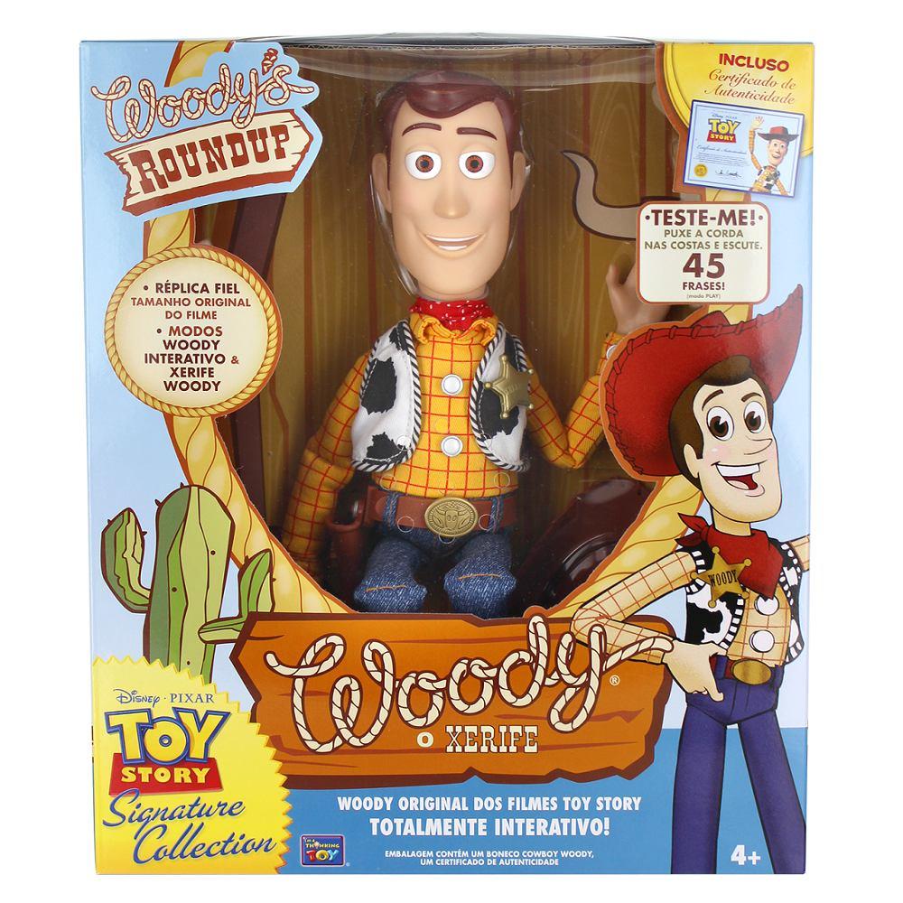 Boneco Toy Story Woody Original Disney Réplica Fiel - R  258 1bb339ed6e1