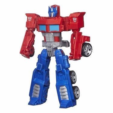 boneco transformers generations cyber optimus prime - hasbro