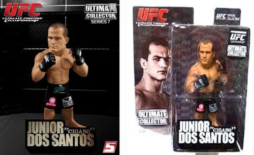 boneco ufc articulável - lutador junior dos santos - gigano