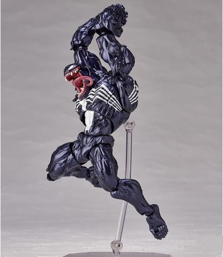 boneco venom revoltech série homem aranha spider man