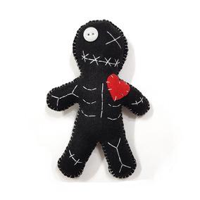 Boneco Voodoo Doll Pelúcia Vodu Vudu Terror Horror 1 Unidade