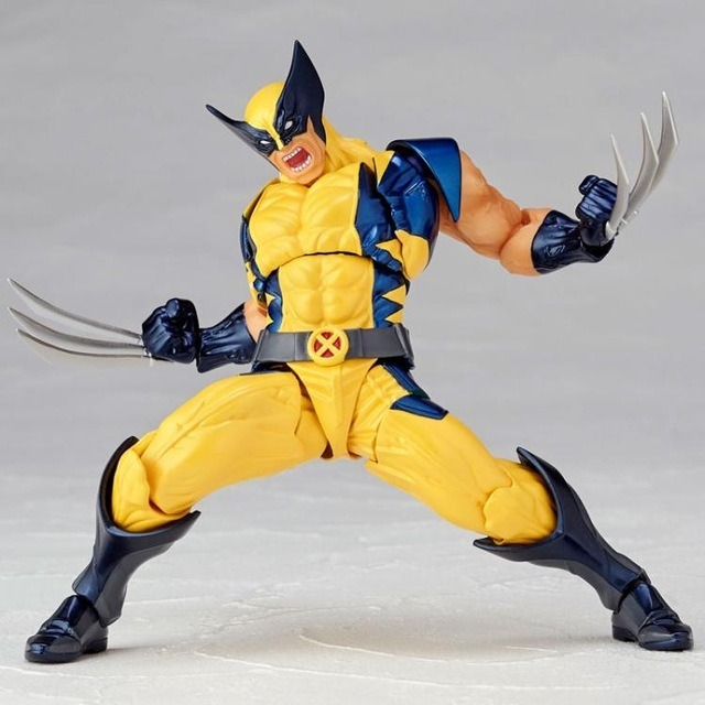 Boneco Wolverine Marvel Legends Revoltech - Pronta Entrega! - R  199 ... 381c60bdc8a