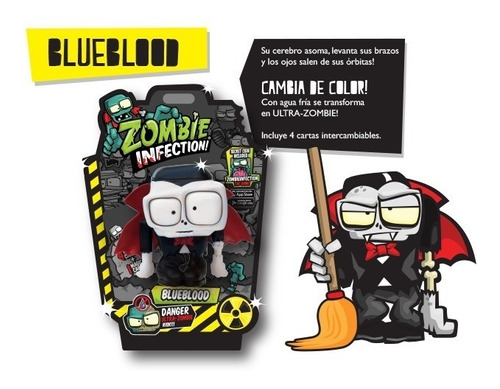 boneco zumbi blueblood zombie infection - bonellihq f19