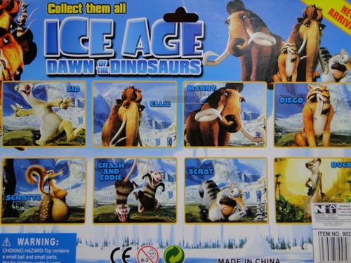 bonecos  do  filme  era  do  gelo   04   personagens