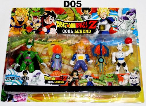 bonecos dragon ball z articulados goku kit dragonball gohan