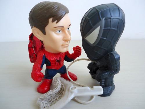 bonecos e acessórios promocionais homen aranha kit 8 peças