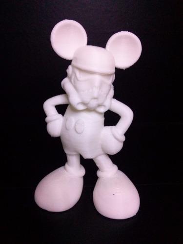 bonecos em impressoras 3d