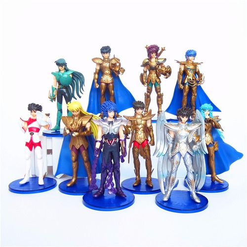 bonecos figura ação cavaleiros zodiaco