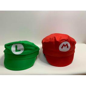 e7d6f6dbf9ce8 Boina Chapéu Super Mario Bros - Brinquedos e Hobbies no Mercado ...