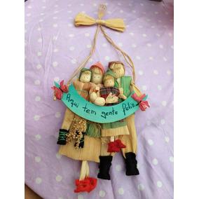 0826bb97b1943 Boneca De Palha De Milho - Brinquedos e Hobbies no Mercado Livre Brasil