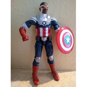 aebcf382615 Boneco Sam Wilson Marvel Legends - Bonecos e Figuras de Ação no ...