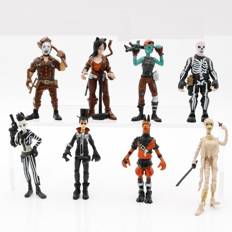 Bonecos Fortnite Ghoul Trooper Skull Trooper Kit W3 R