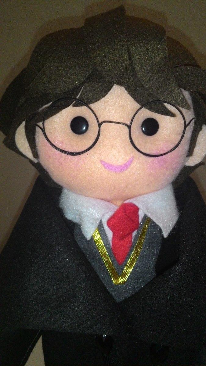 Aparador Sala De Jantar Rustico ~ Bonecos Em Feltro Harry Potter R$ 200,00 em Mercado Livre