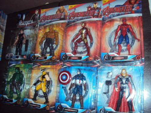 bonecos marvel the avengers grande 17cm unidade