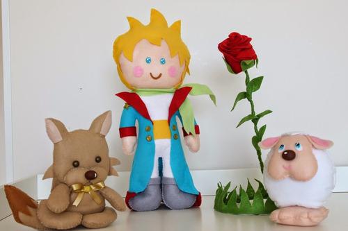 bonecos pequeno príncipe