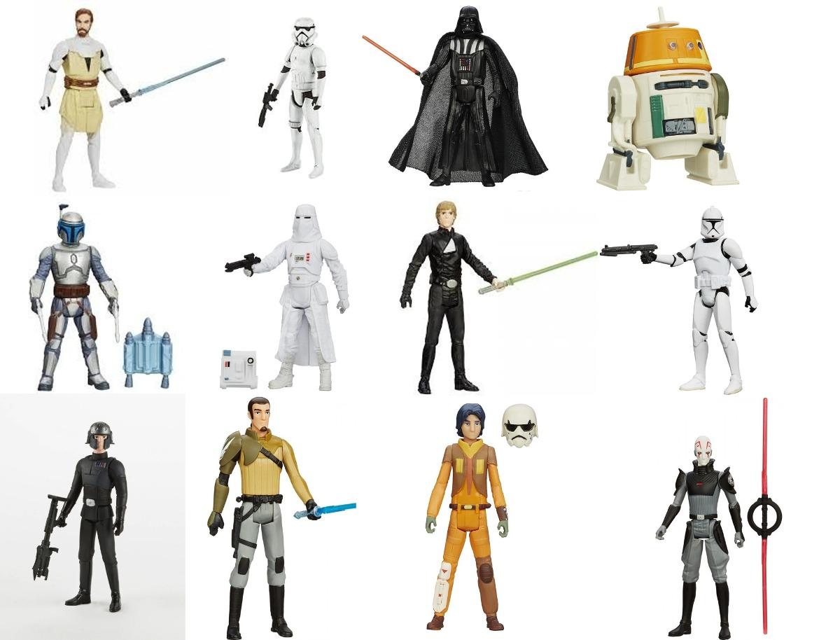 Bonecos Star Wars em Oferta Promoção de Bonecos