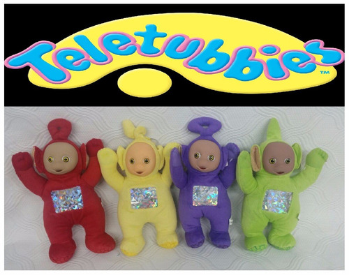 bonecos teletubbies de pelucia musical unitario