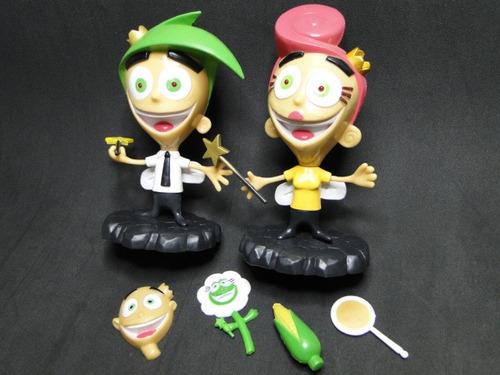 bonecos  the fairly  odd  parents !  coleção  disney desenho