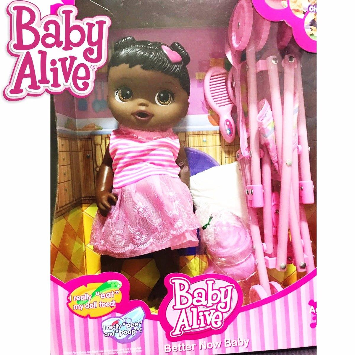 Bonequinha Baby Alive Hora Do Passeio Boneca Q Fala