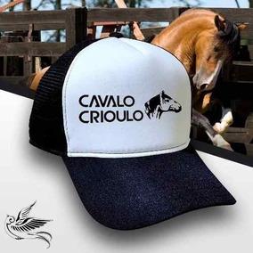 9194adb1b37cc Boné Trucker Cavalo Crioulo Corrida Unissex Promoção Top