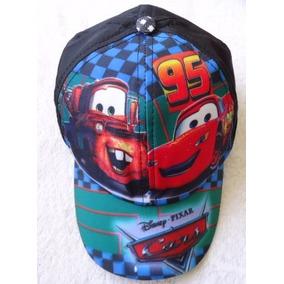 56854cf3cc06f Kit 2 Boné Infantil Carros Cars Relampago Mcqueen Chapeu