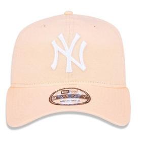 fe080b78e4830 Bone Ny New York Strapback Azul Top Lançamento Barato