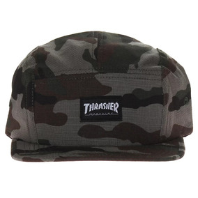 a9e172a7c7d33 Bone Thrasher Five Panel Mag Logo Camuflado