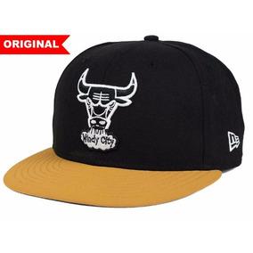 6563a90f8608d Boné Chicago Bulls New Era Snapback Aba Reta Ajustável - Bonés para ...