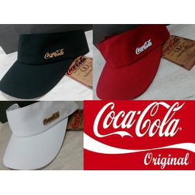68fe3bb126b98 Viseira Coca Cola (3 Cores) Ajustável Praia Fitness Original