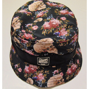 78e5cd531ef61 Bucket Hat Skull Roses Chronic Original Pronta Entrega !