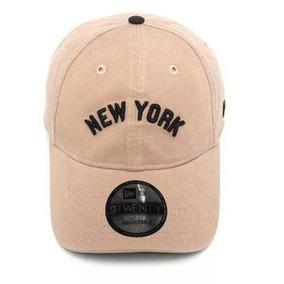 44eb7adf9e Bon New Era Aba Curva Mlb Ny Yankees Basic Colors Bege - Bonés no ...