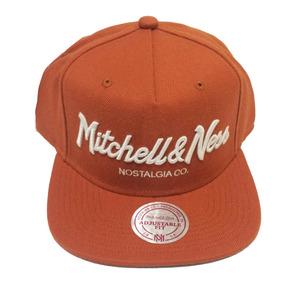 4028b6c74effa Boné Mitchell E Ness Nba Snapback Brand Nostalgia Laranja