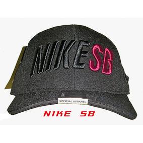 7d2fdf13771e2 Boné Nike Sb - Aba Reta - Snapback Grátis Frete