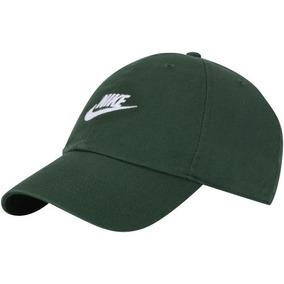 5ff456bb49966 Bone Nike Dois Lados Verde - Bonés no Mercado Livre Brasil