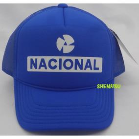 ddd83bea36d82 Boné Banco Nacional Trucker Cap Silk Tela Retrô