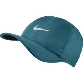 d2e15db4a8bb7 Boné Nike Dri-fit Featherlight Strapback - (azul Petróleo)