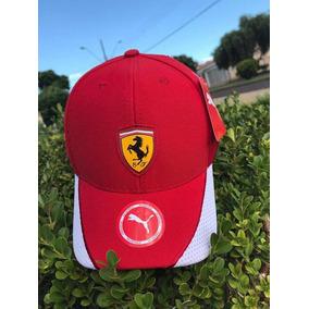 8c689f7eae81b Boné Mc Kapela Santander Ferrari Aba Curva. R  59 99