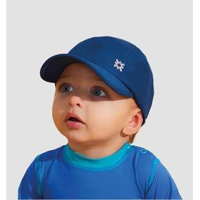 ef8f027f71f35 Uvline Boné Baby Colors Marinho Infantil Proteção Solar