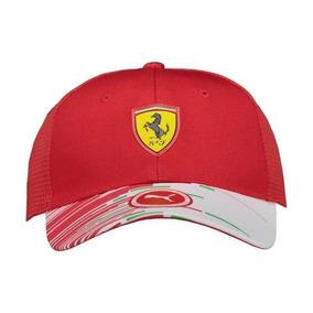 ce7bec273f0 Boné Scuderia Ferrari Puma Original Sf Team Cap Alonso - Bonés para ...