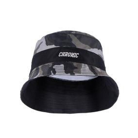 4e83560bf3e85 Bucket Hat Chronic Camuflado Chapéu Pescador Boné Cinza