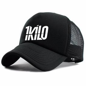 eafa414d55317 Boné Trucker Telinha 1 Kilo Rap Swag Hip Hop Bone 1kilo Cmz